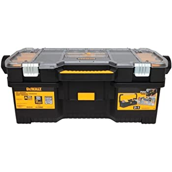 Stanley 24 Inch Toolbox With Tote Tray Organiser