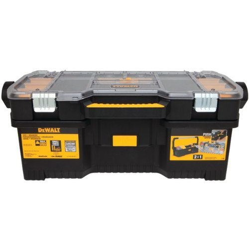 076174792294 - DEWALT DWST24075R Tote with Removable Organizer carousel main 0