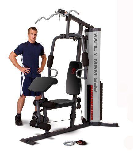 Marcy Multifunction Steel Home Gym 150lb Stack MWM-988 by Marcy (Image #3)