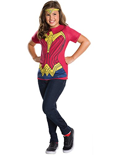 (Rubie's Batman v Superman: Dawn of Justice Wonder Woman Child Top and Tiara,)