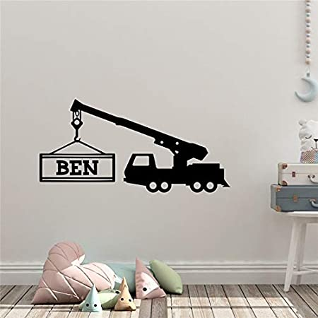 hetingyue Childrens Room Wall Art Vinyl Decal Sticker Custom Living Room Cartoon Wall Sticker Removable Poster Art Decoration 70x144cm: Amazon.es: Hogar