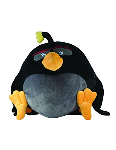 "Angry Birds Movie 22"" Jumbo Talking Feature Plush - Bomb"