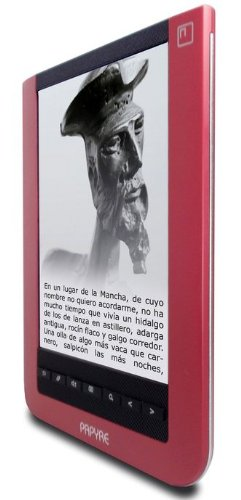 Ebook Grammata Papyre 6.1 512Mb - Tarjeta SD 2Gb - Rojo: Amazon.es ...