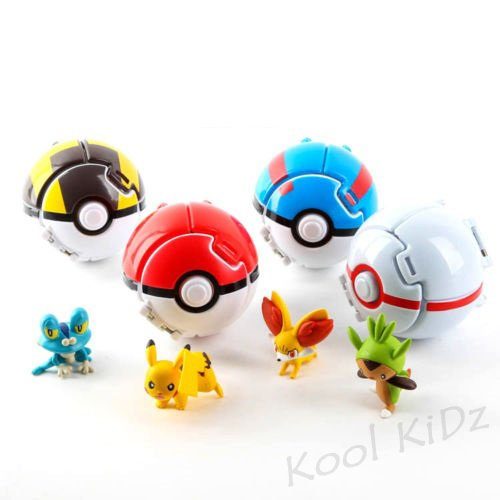 Kool KiDz Pokemon Pokeball Fighting product image