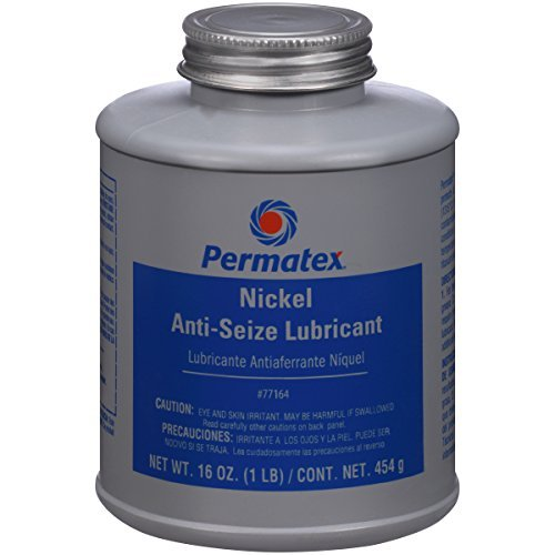 Permatex 77164 Nickel Anti-Seize Lubricant, 16 oz. by Permatex