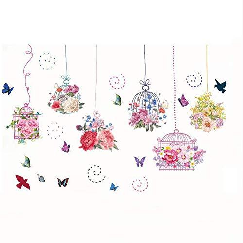 Eeemmm Hermosas Flores Rosadas, Rosa, Jaula, Peonía, Mariposa ...