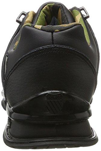 K-Swiss Rinzler SP, Men's Low-Top Sneakers Black (Black/Gunmetal/Camo)