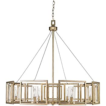 golden lighting chandelier. Golden Lighting 6068-8 WG Marco - Eight Light Chandelier, White Gold Finish Chandelier 3