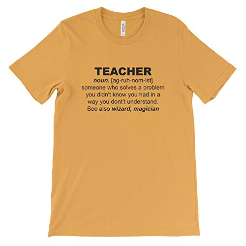 Tee Gold Wizard Magician T Shirt Teacher Women's Dictionary 19 Colors shirt f7TwI