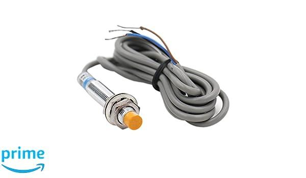 heschen inductiva Sensor de proximidad Interruptor LJ8 A3 - 2-Z/AX detector de 2 mm 6 - 36 V 200 mA NPN normalmente cerrado (NC) 3 alambre: Amazon.es: ...