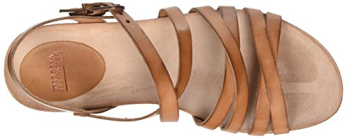 Brown Fred Bretoniere Sandale Women's Light Riemchen la 3158 Brown de Gladiator Z0ZwqSnO