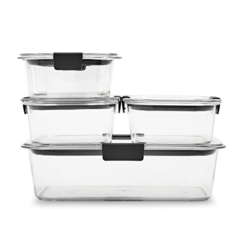 Rubbermaid Brilliance Food Storage Container, 10-Piece Set