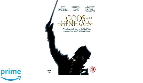 Gods and Generals [Reino Unido] [DVD]: Amazon.es: Jeff Daniels, Stephen Lang, Mark Aldrich, Robert Duvall, George Allen (III), Keith Allison, Mira Sorvino, ...