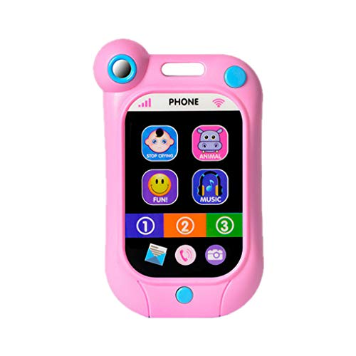 Alimao 2019 New Kids Simulator Music Toy Cell Phone Educational Learning Child Gift 100%
