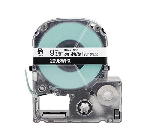 Labelshop Label Tape - K-SUN CORPORATION 206BW K-Sun 206BW Tape Black on White 1/4