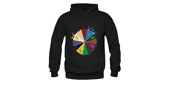 4562ac6139e5 ZTANG Mens Homestuck God Tier Symbols Game Pullover Sweater Hoodies XXXL  Black  Amazon.com  Books