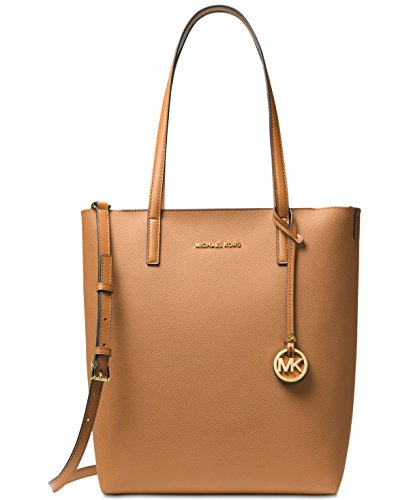 MICHAEL MICHAEL KORS Hayley Large Convertible Tote (Acorn/Oyster) by Michael Kors