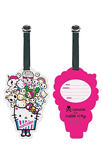 Sanrio Hello Kitty Luggage Rubber Tag : Tokidoki (Hello Kitty Luggage Tag)