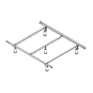 Amazon Com Naked Hospitality Bed Stand Alone Frame With