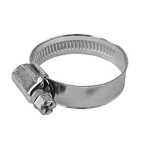 Manguera Abrazadera 12mm de banda (W1) DIN3017Diámetro de 40–60mm