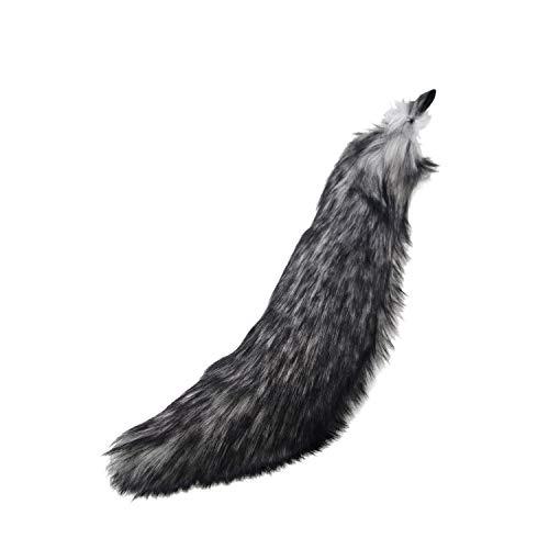 Pawstar Realistic Mini Wolf Tail 23