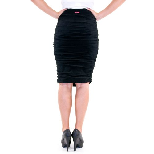 ruched pencil skirt fashion