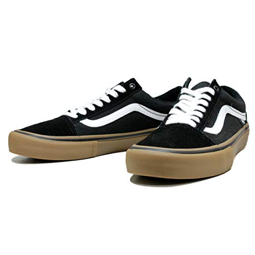 Vans Old Skool Pro Shoes, Black White