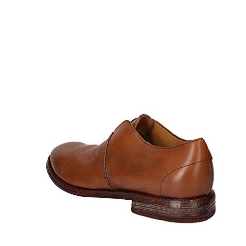 MOMA - Mocasines de Piel para hombre marrón marrón
