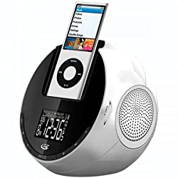Gpx Ilive CI109S Am/fm Clock Radio with Ipod Dock