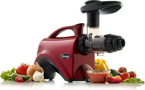 Omega NC800 HDR 5th Generation Nutrition Center Juicer - Red (Large Image)