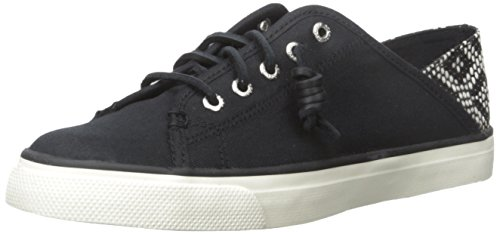 Sperry Top-sider Dames Zeekust Isle Fashion Sneaker Zwart / Tribal