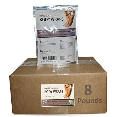 (Neutripure SPA Formula Body Wrap Bulk 8 Pounds: Seaweed, Healing Clay, Garcinia Cambogia, and Dead Sea Salt)