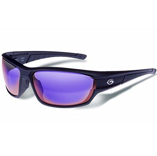 Gargoyles Havoc Performance Sunglasses, Matte Black Frame/Mirror - Havoc Sunglasses