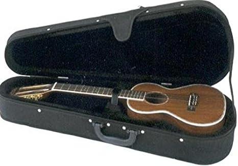 ESTUCHE UKELELE - Lanikai (UUCS) Soprano (Terciopelo negro con bandolera): Amazon.es: Instrumentos musicales