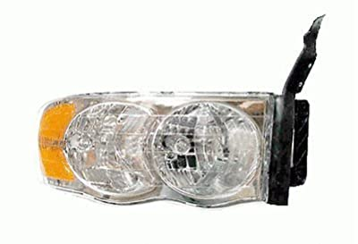 02 03 04 05 Dodge Ram 1500 Truck Passenger Headlight Headlamp 03-05 Dodge Ram 2500 and 3500 NEW 55077120AF CH2503135