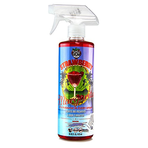 Chemical Guys AIR_223_16 Strawberry Margarita Premium Air Freshener and Odor Eliminator (16 oz)