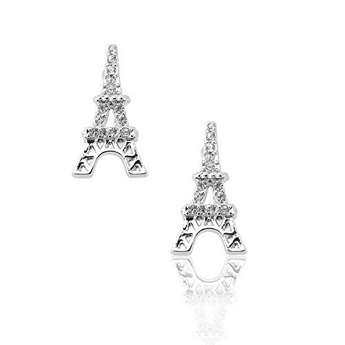 (Spinningdaisy Silver Plated Ooh La La Eiffel Tower)