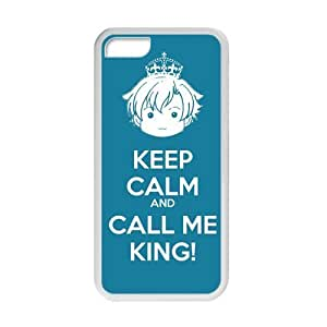 CSKFUKeep Calm And Smile Black Stylish Cover Case For iphone 6 5.5 plus iphone 6 5.5 plus with high-quality Plastic