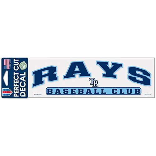 Tampa Bay Rays WinCraft 3 x 10 Arch Perfect Cut Decal