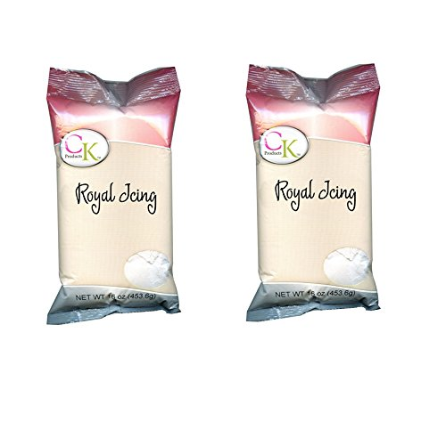 - CK Products White Royal Icing Mix, 1lb/2 Pack