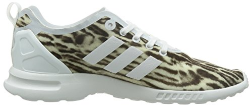 Black 40 Blanco Adv Smooth Para Eu Adidas Blackcore core Flux White Zapatillas Mujer Zx wUq77RATn
