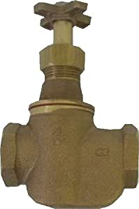 "Aqualine SV-075 3/4"" Brass Straight Irrigation Valve"