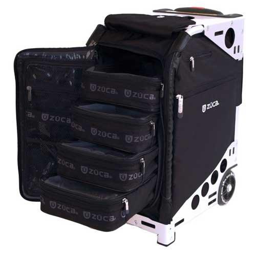 Zuca Pro Artist Case - Black/Silver / 89055900301 by ZUCA