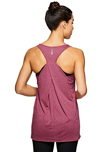 RBX Active Women's Yoga Workout Tank Top Spring Red M