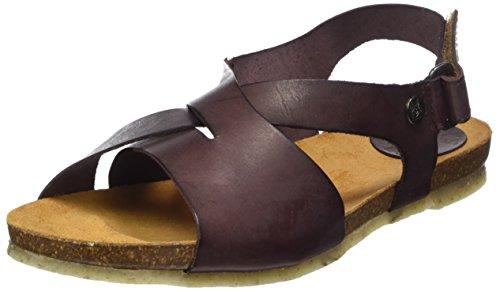 Toe Marron Open Sandals Brown 007 Jonny's Nane Women's qntYwq6Z