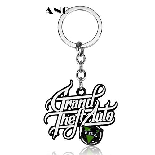 Ps4 Xbox Pc Rockstar Game GTA V Grand Theft Auto 5 Keychain Keyring Key Chain Best Gifts Keyrings Llaveros