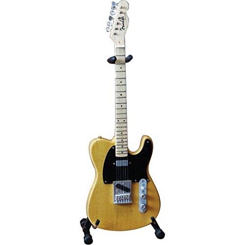 Axe Heaven FT-001 Fender Telecaster Butterscotch Blonde Miniature Guitar - Miniature Guitar Shop