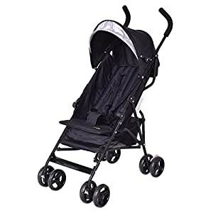 Costzon Lightweight Umbrella Baby Stroller with 5-Point Safety Harness and Storage Basket