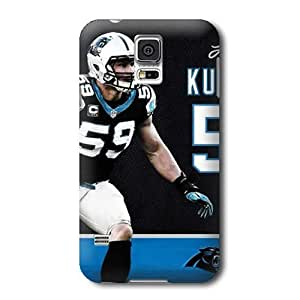 S5 Case, NFL - Luke Kuechly Action Shot Carolina Panthers - Samsung Galaxy S5 Case - High Quality PC Case