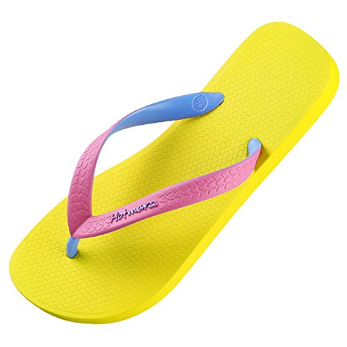 Hotmarzz Women's Slim Soft Flip Flops Beach Slippers